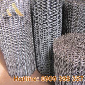 Lưới băng tải inox 201-304-316 Nguyên Muôn