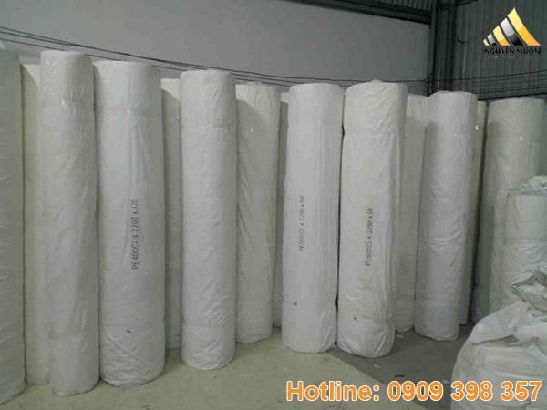 Bề dày của vải lọc càng cao thì hiệu quả lọc sẽ càng lớn.