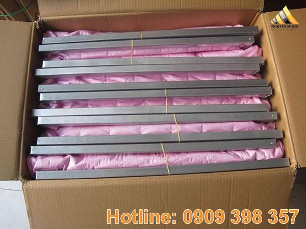 Có hiệu suất lọc là 80-85% theo tiêu chuẩn EN779, túi màu hồng