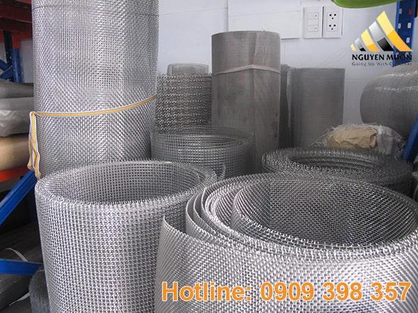 Lưới có cấp độ lọc rất rất đa dạng. Lưới inox được dùng đơn vị mesh để đo lượng.