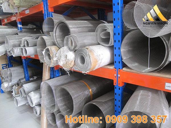 Lưới được đan từ sợi thép không gỉ ( lưới đan ) 201, 304, 316 chất lượng cao đạt chuẩn ISO