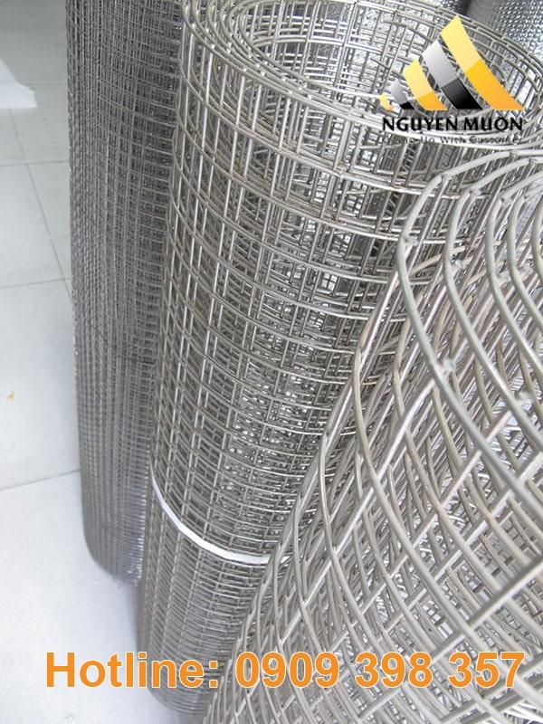 Lưới hàn ô vuông còn được sử dụng rộng rãi trong ngành nông nghiệp chăn nuôi