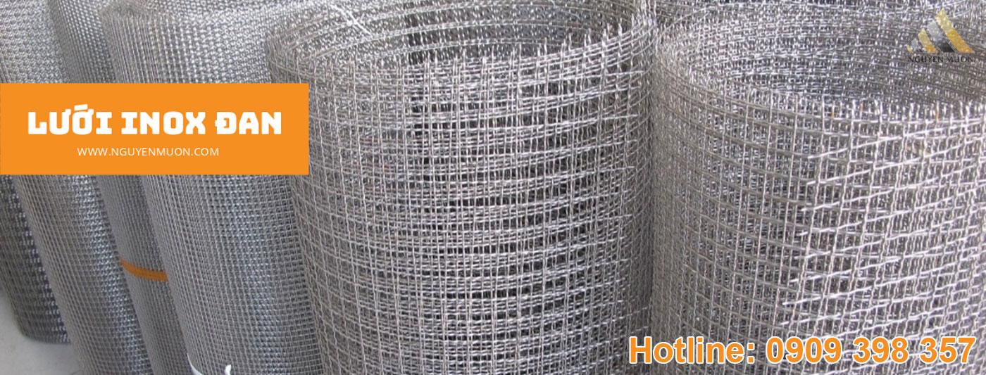 Danh mục lưới inox đan Nguyên Muôn