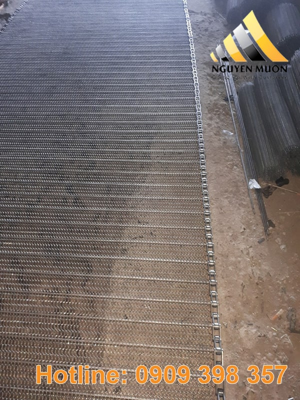 Hình ảnh sản phẩm lưới băng tải inox