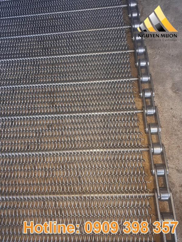Lưới băng tải được sử dụng rộng rãi trong ngành băng tải