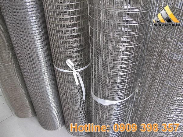 Lưới hàn đang dần thay thế hoàn toàn các loại lưới kẽm và lưới thép mau gỉ.