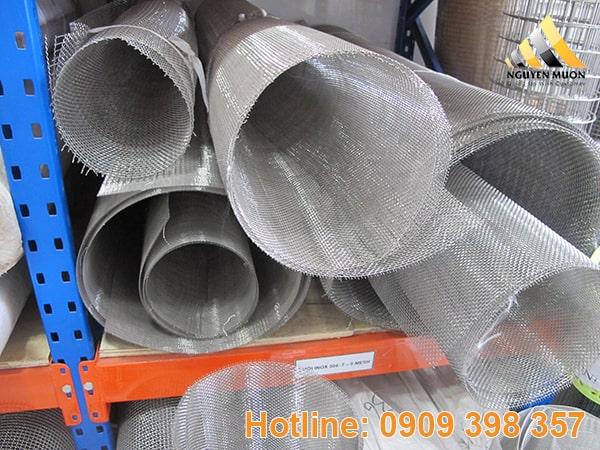 Lưới inox đan có chất lượng sản phẩm khá hạn chế so với các sản phẩm cùng loại